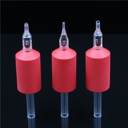 TRUE STAR® Clear Disposbale Girps- Red