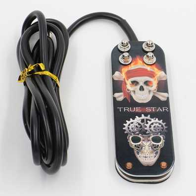 TRUE STAR Skull Foot Switch