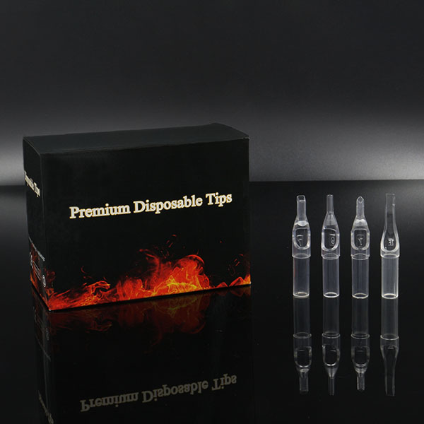 Transparent Clear Disposable Tips -- box of 50pcs