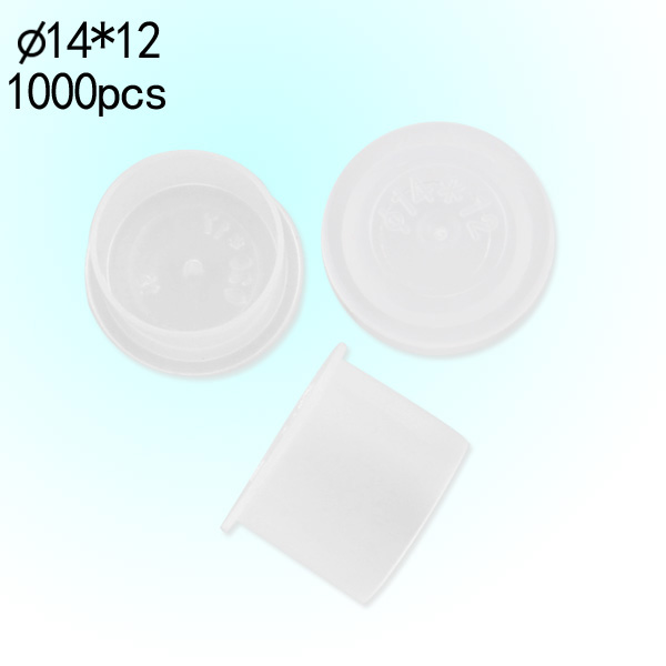 Self-standing Ink Cups White 14mm
