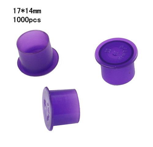 Self-standing Ink Cups Purple 17mm