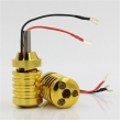 Aluminum Alloy Grips With Aid Light 28mm - Yellow