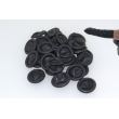 Rubber Finger Gloves Black