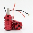 Aluminum Alloy Grips With Aid Light 28mm- Red