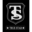 TRUE STAR® Clear Disposbale Girps-Black