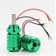 Aluminum Alloy Grips With Aid Light 28mm- Green